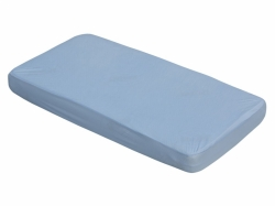 Prostěradlo do postýlky bavlna - TENCEL Scarlett modré - 120x60c