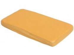Prostěradlo do postýlky bavlna - TENCEL Scarlett oranžové - 120x