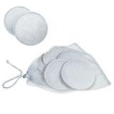 Prsní tampóny do kojící podprsenky PRATELNÉ - AVENT - bílé - 6k