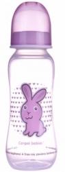 Lahev kojenecká plastová Canpol – ZAJÍČEK růžová - 250ml
