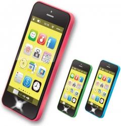 Hračka dětská plastová - CHYTRÝ TELEFON - Smart phone barva zele