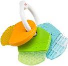 Kousátko dětské chladící - KLÍČE barevné - Fischer Price