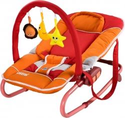 Lehátko pro miminko CARETERO Astral červeno-oranžové