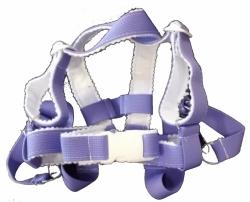 Kšíry do kočárku - bezpečnostní popruhy - KOKA fialové