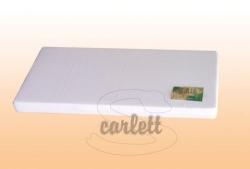 Matrace do kolébky PĚNOVÁ - bílá - 90x41x6cm
