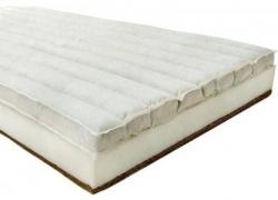 Matrace do postýlky Sensillo - POHANKA-MOLITAN-KOKOS bílá - 120x
