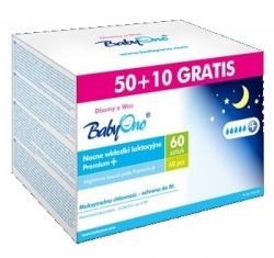 Prsní tampóny do kojící podprsenky Premium noční - Baby Ono - bí