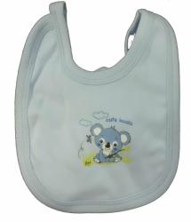 Bryndák dětský bavlna - KOALA modrý - malý zavazovací
