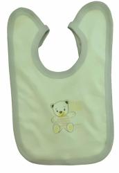 Bryndák dětský bavlna - TŘI MÉĎOVÉ žlutý - střední zavazovací