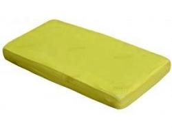 Prostěradlo do postýlky bavlna - TENCEL Scarlett žluté - 120x60c