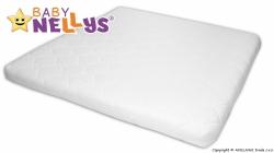 Matrace do dětské ohrádky - BABY NELLYS bílá - 90x90x5cm