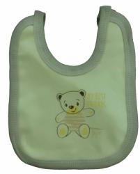 Bryndák dětský bavlna - TŘI MÉĎOVÉ žlutý - malý zavazovací