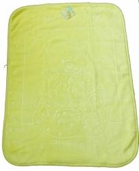 Deka dětská španělská - SLADKÝ MÉĎA žlutá - 80x110cm