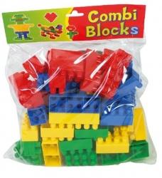 Stavebnice dětská - KOSTKY plastové - 60ks