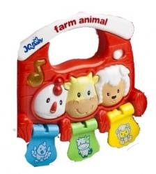 Hračka dětská plastová - BABY FARMA se zvuky