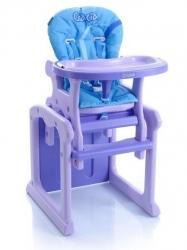 Židlička dětská jídelní plastová se stolečkem BabyPoint - GRACI